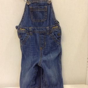 Old Navy overalls for 6-12 mos 100% cotton denim